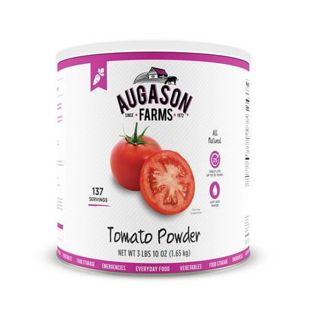 Augason Farms Tomato Powder Emergency Food Storage 3 Lbs 10 Oz No  10 Can