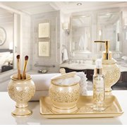 Creative Scents Shannon QTip Holder Decorative Bathroom Vanity - Best bathroom scents