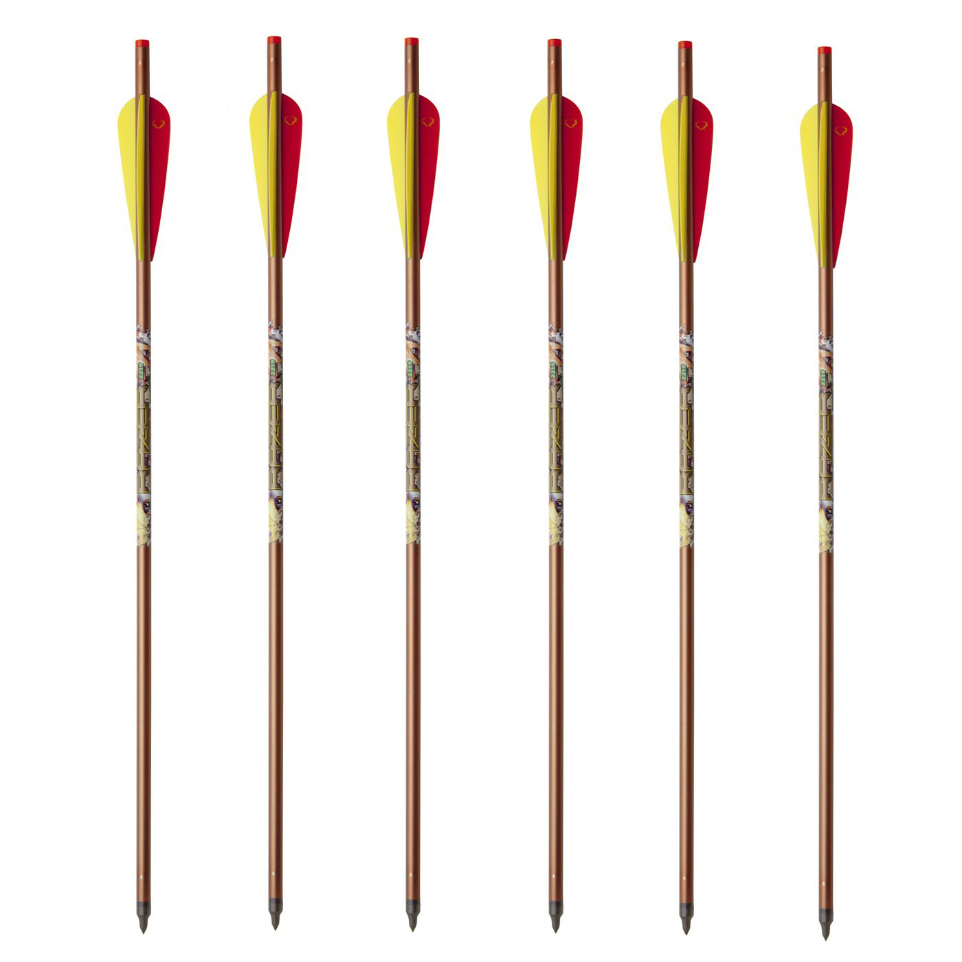 "TenPoint Crossbow Technologies 20"" 2219 Aluminum Arrows Per 6"