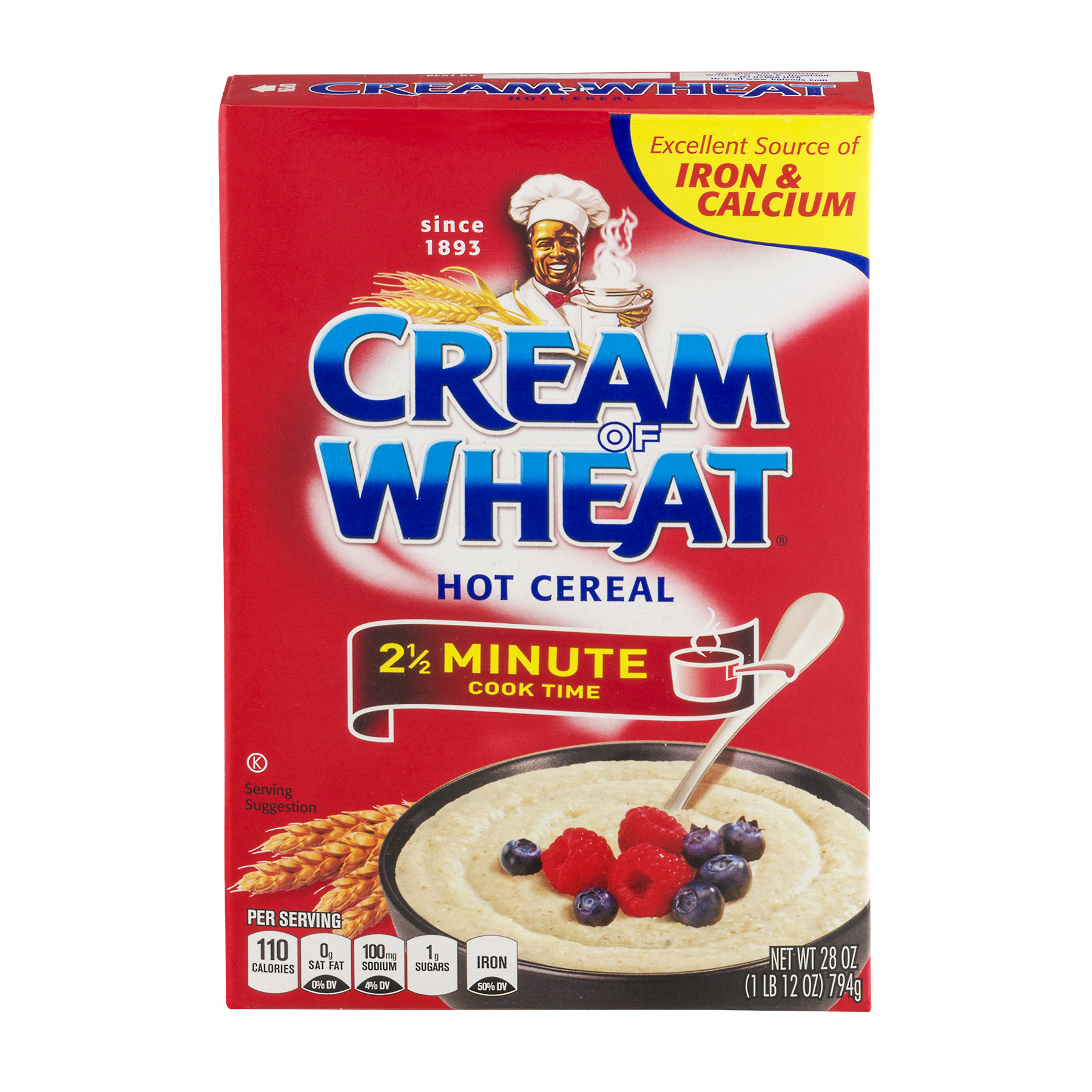 Cream Of Wheat 2 1/2 Minute Hot Cereal, Original, 28 Oz