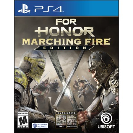 For Honor: Marching Fire Edition - Day 1, Ubisoft, PlayStation 4, 887256037635