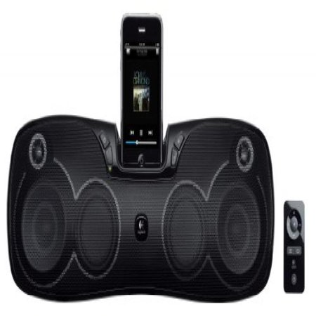 a6991f1d978 Logitech S715i Portable 30-Pin iPod/iPhone Speaker Dock (Discontinued by  Manufacturer) - Walmart.com