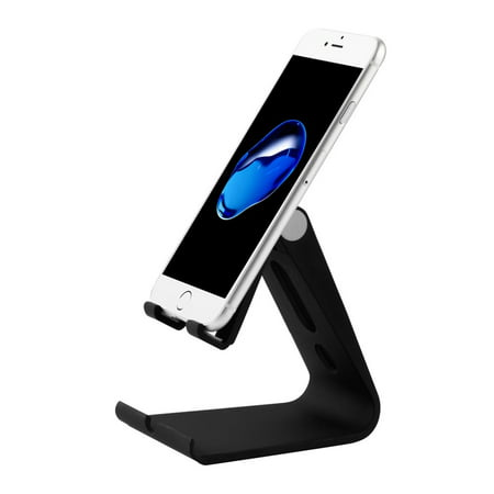 Valor Adjustable Multi-angle Desktop Foldable Stand Holder for Cell Phone Tablet -