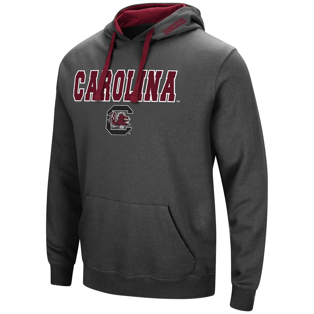 Mens South Carolina Gamecocks Pull-over Hoodie S by Colosseum
