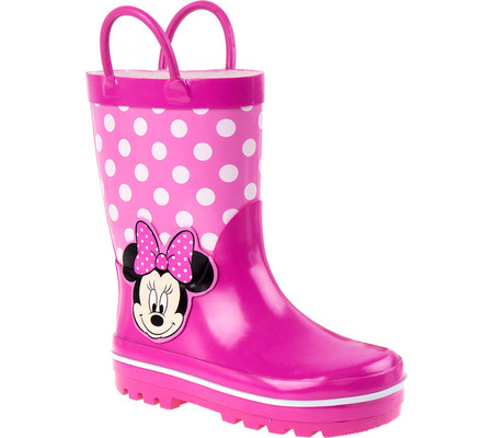 Girls' Josmo O-CH15141C Minnie Mouse Rain Boot by