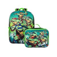 Teenage Mutant Ninja Turtles Backpack with Insulated Lunchbox