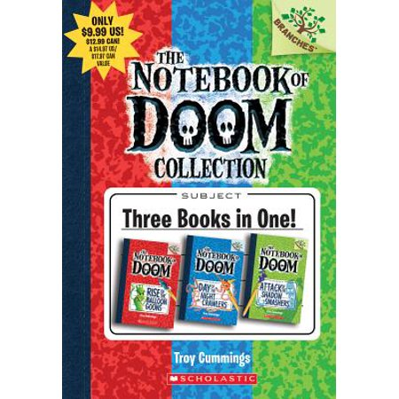 The Notebook of Doom Collection: A Branches Book (Books #1-3) - Cj Kids