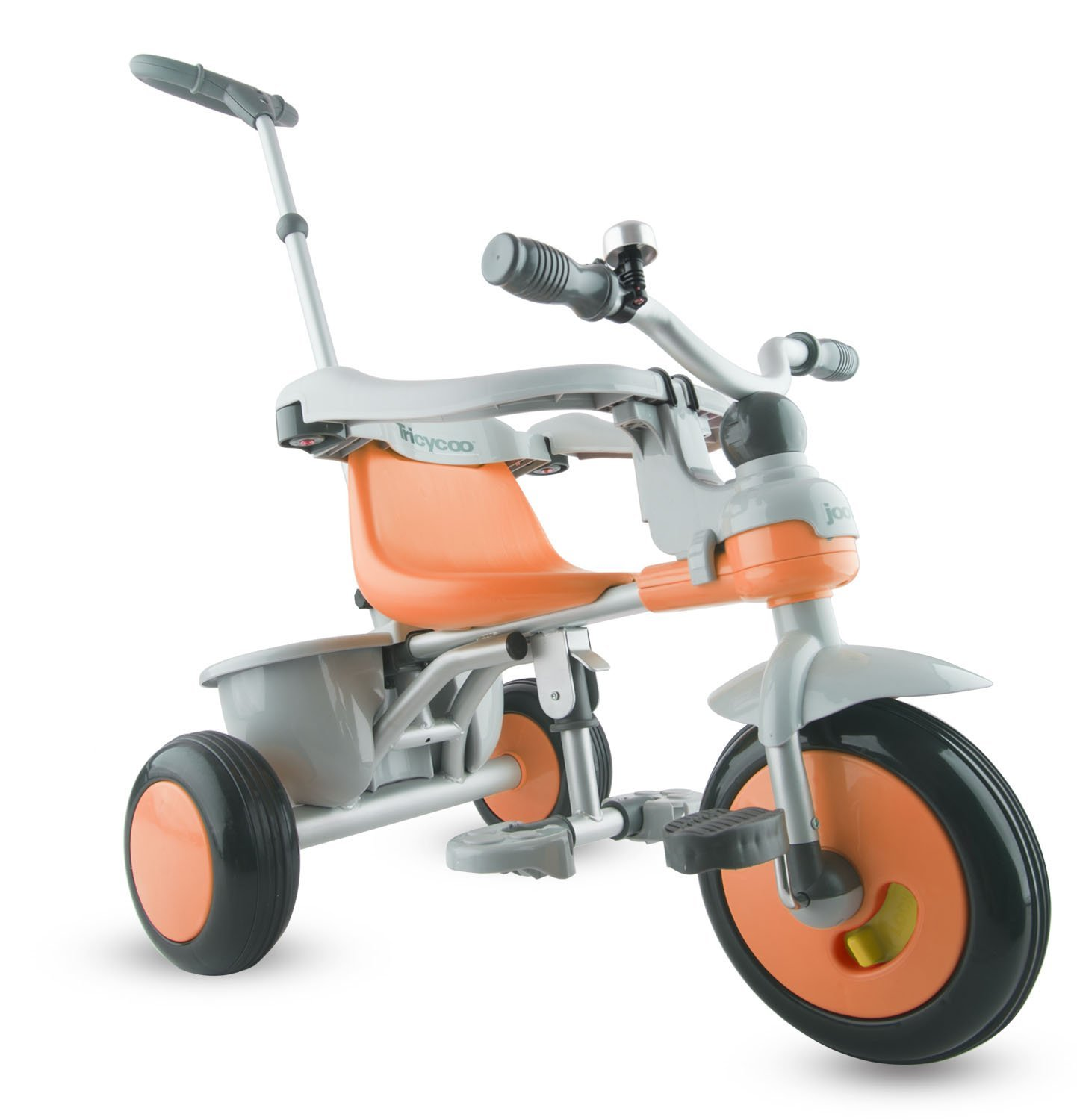 Joovy Tricycoo Toddler Tricycle Outdoor Trike Ride for Toddlers 18+ Mo, Orangie
