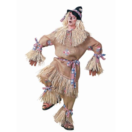 DELUXE SCARECROW wizard of oz funny straw man adult halloween costume