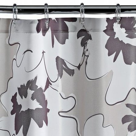 Apt 9 Brown Floral Fabric Shower Curtain Pretty Flower Bath ...