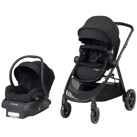 Maxi-Cosi Zelia 5-in-1 Modular Travel System, Night Black
