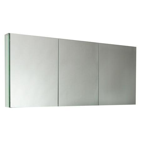Fresca 60 In Mirrored Medicine Cabinet Walmart Com