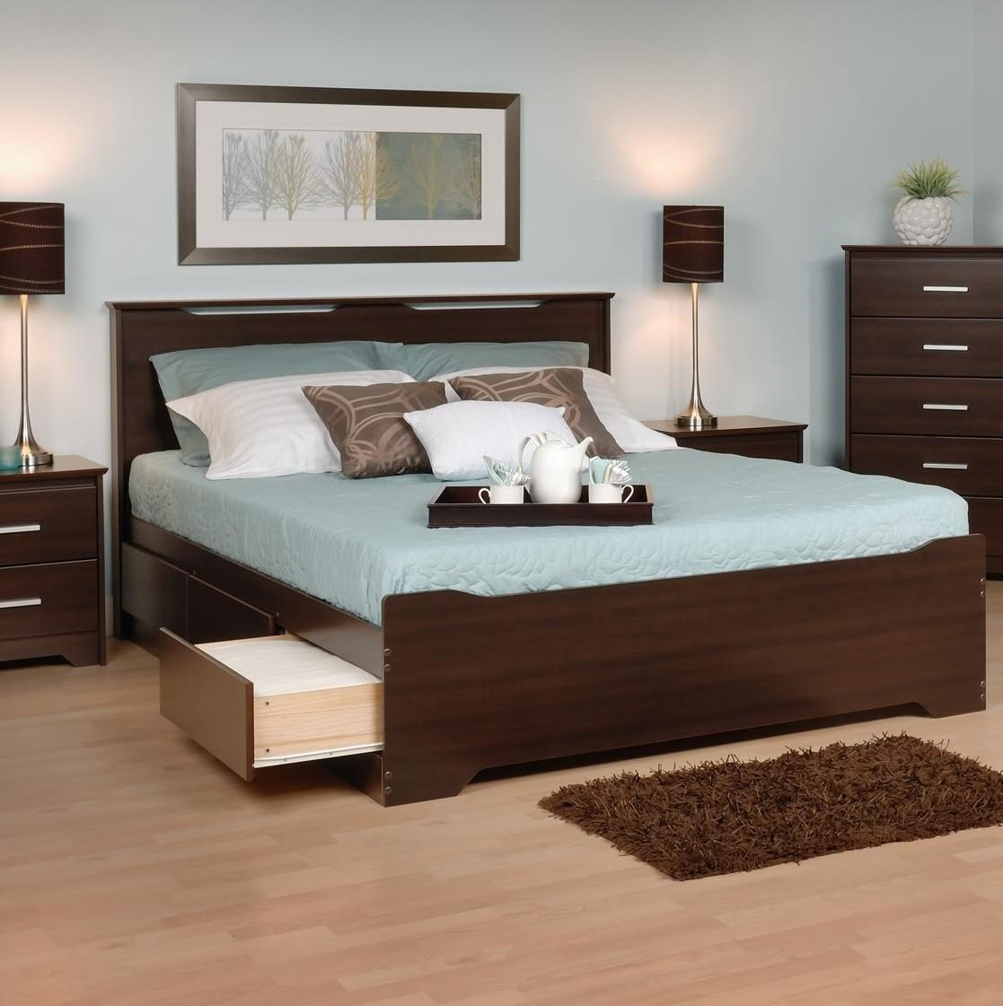 Coal Harbor Queen Bed-Bed Size:Full,Color:Espresso