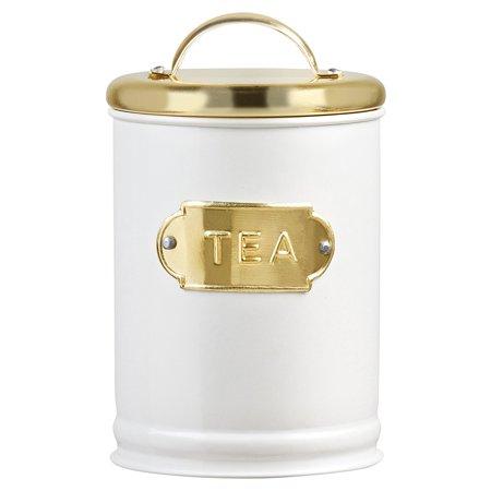 Madison Metal Storage Canister, Tea, 32 oz
