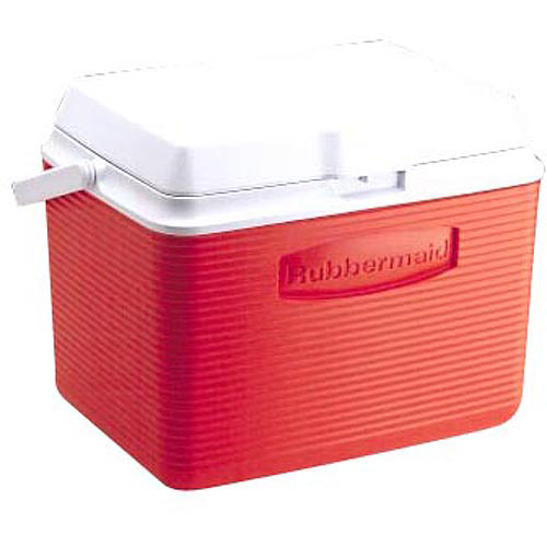 Rubbermaid FG2A1304MODRD 24 Quart Classic Red Victory Personal Cooler