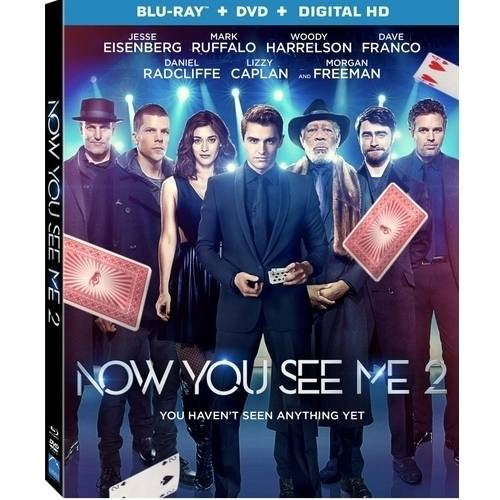 Now You See Me 2 (Blu-ray + DVD + Digital HD)