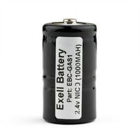 2.4V 1000mAh Gas Meter Battery for TIF 8800 Combustible Gas Detector HI-CAPACITY