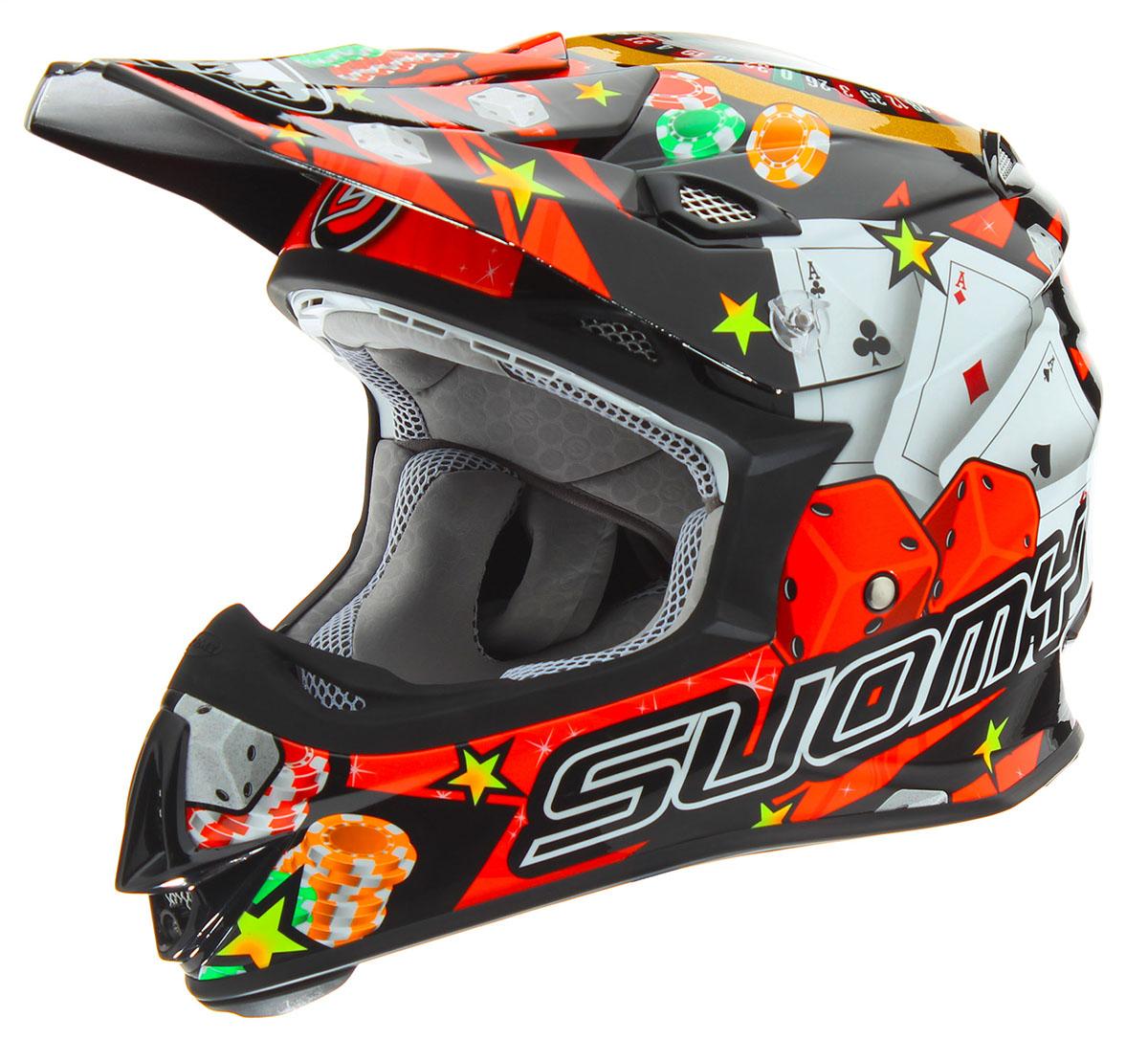 Suomy MX Jump Jackpot Black Helmet