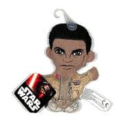 "Star Wars The Force Awakens Finn 4"" Plush Footzeez Comic Images Ep 7"