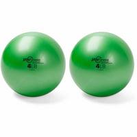 Peak Pilates Weighted Balls, 4 lbs, Set of 2