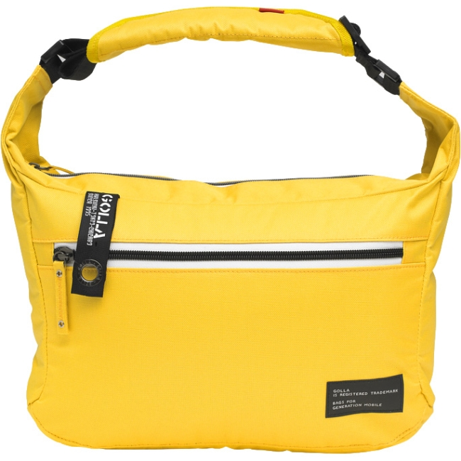 "Golla Milarca Street G Carrying Case [messenger] For 11"" Netbook, Tablet - Yellow, Gray - Dirt Proof, Scratch Resistant - Polyamide - Shoulder Strap (g1451)"