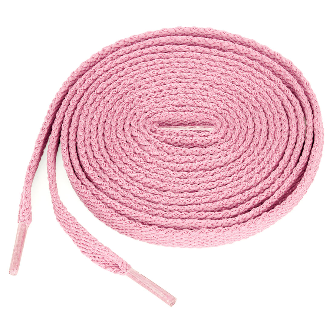All Lengths Made in the USA! Pink FLAT Athletic Shoelace Laces 1 Pair
