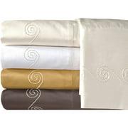 Veratex, Inc. Supreme Sateen 800-Thread Count Swirl Pillowcases, 2pk