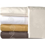 Veratex, Inc. Supreme Sateen 800-Thread Count Swirl Pillowcases, 2pk
