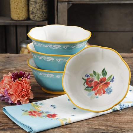 Eco Collection Cereal - The Pioneer Woman Spring Bouquet 6.75-Inch Bowls, Set of 4