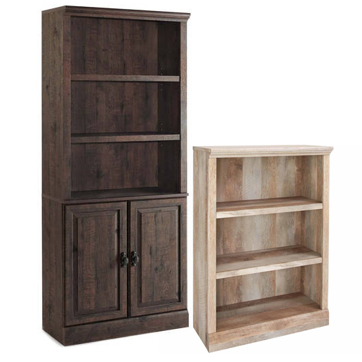 Bookcase Set, Better Homes and Gardens Crossmill Bookcase with Doors - Better Homes and Gardens Crossmill Collection 3-Shelf Bookcase, Multiple Finishes