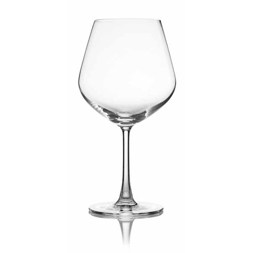 Lucaris Sip Burgundy Glass (Set of 4) by Lucaris