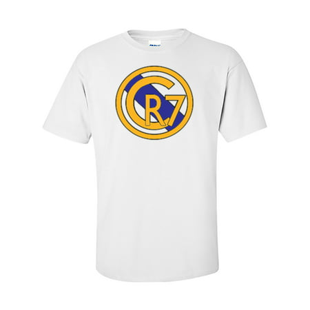 Adidas Real Madrid White Jersey (Shedd Shirts White Cristiano Ronaldo Real Madrid