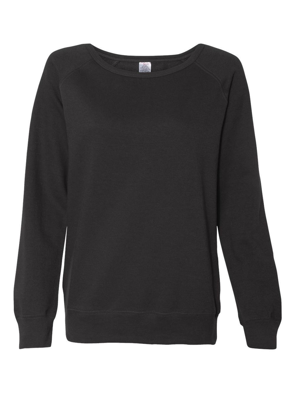 Independent Trading Co. Junior's Lightweight Crewneck Sweatshirt