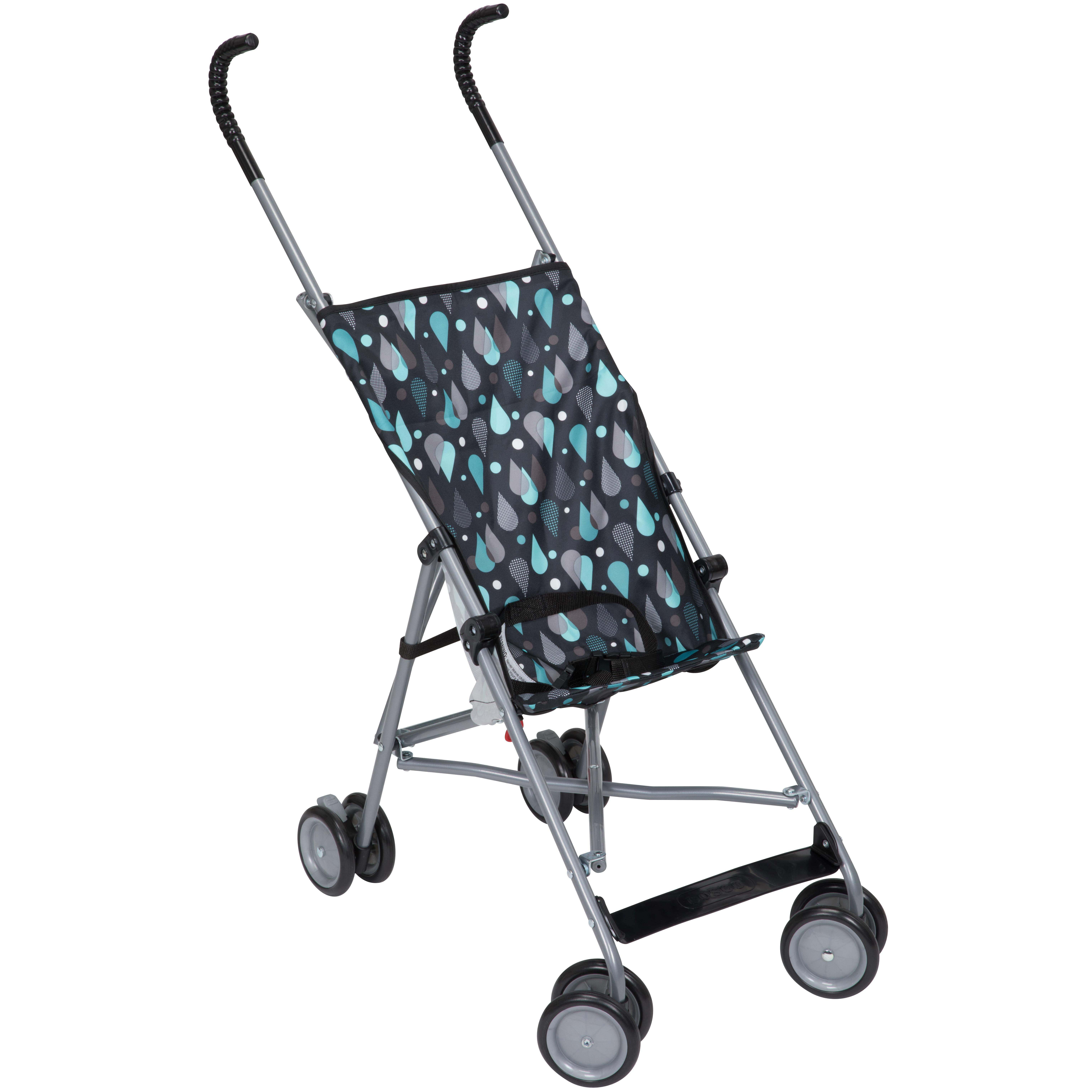 Cosco Comfort Height Lightweight Stroller, Raindrops ...