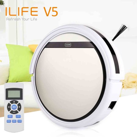 iLIFE V5 Smart Robotic Vacuum Cleaner - Walmart.com