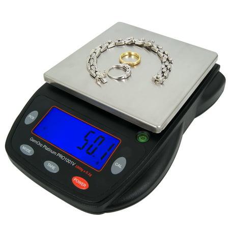 GemOro Authorized Platinum PRO1001V Mid-Size Digital Countertop/Portable Balance Scale - image 1 de 1