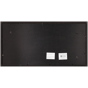 black wood frame. Snap 10x20 Black Wood Frame Image 3 Of 4
