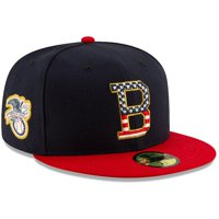 Baltimore Orioles New Era Stars & Stripes 4th of July On-Field 59FIFTY Fitted Hat - Navy/Red