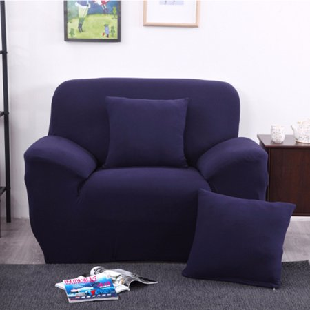 """1 Seater Stretch Sofa Cover Slipcover Sofa Furniture Pet Dog Sectional Corner Couch Covers 35.4""""-53.1"""""""