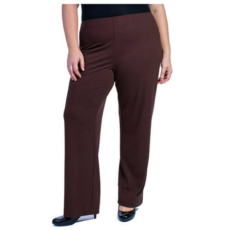 Women\'s Plus-Size Pull-On Dress Pant