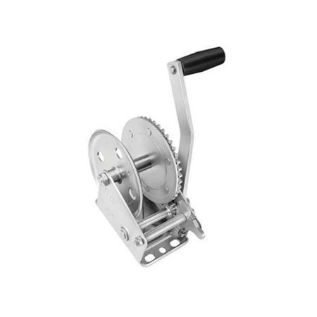Cequent 142100 Single Speed Winch - 4.1:1 Gear Ratio,