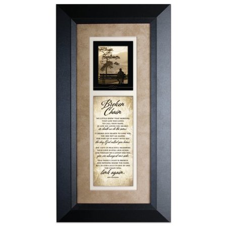 The James Lawrence Company 'Broken Chain' Framed Textual