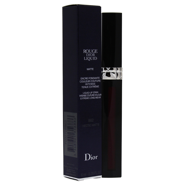 Rouge Dior Liquid Lip Stain - 862 Hectic Matte by Christian Dior for Women - 0.2 oz Lip Gloss - image 1 de 1
