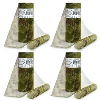 "Expo Int'l Pack of 4 Camouflage Print 6"" Tulle Spool of 10 Yards"