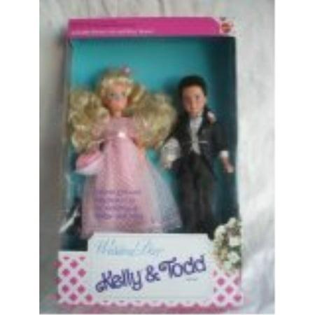 Barbie Wedding Day Kelly & Todd Gift Set Dolls 1991 Mattel Wedding Doll Set