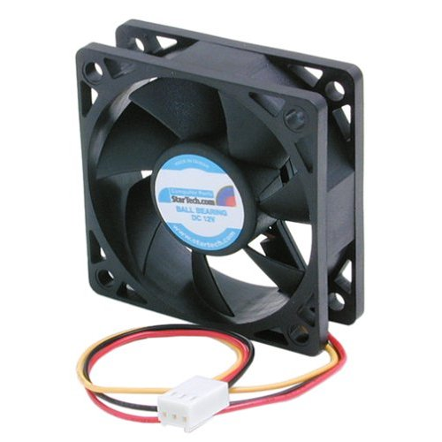 Startech.com Replacement 60x20mm Tx3 Cpu Cooler Fan - 60mm - 4500rpm (fan6x2tx3)