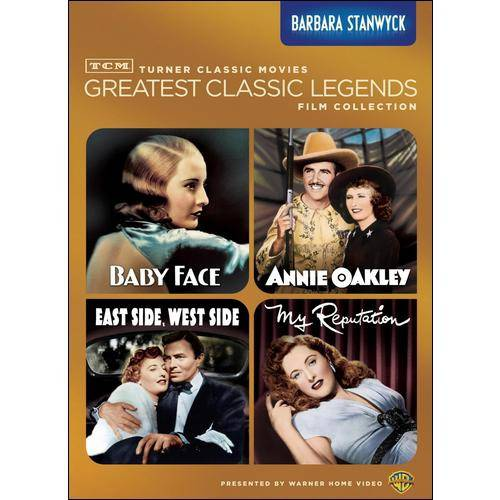 TCM Greatest Classic Legends Film Collection: Barbara Stanwyck - Baby Face / Annie Oakley / My Reputation / East Side, West Side