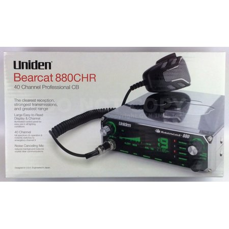 b305c195ec9e6 NEW Uniden Bearcat 880 CHROME CB Radio 7 Color Backlit Display w/Noise  Cancel Mi