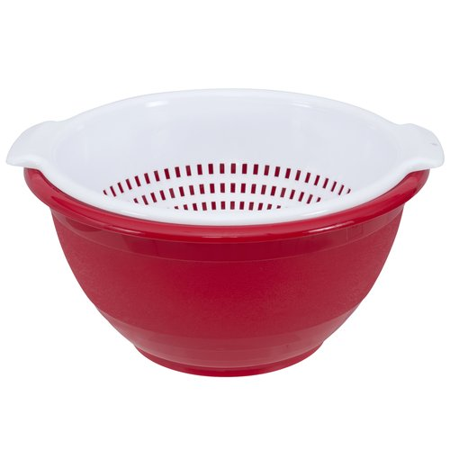 Mainstays 6qt Bowl and 4qt Colander Set