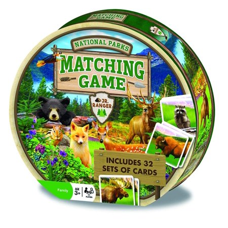 National Parks Matching Game, Enjoy some fun with this family game By MasterPieces - Halloween Pumpkin Matching Game